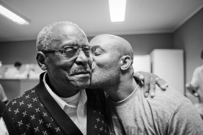 Anderson Silva with Uncle