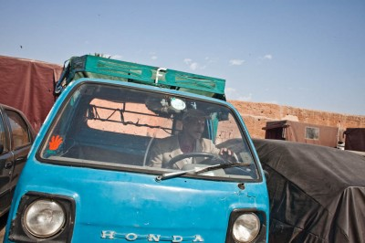 Blue Truck Marrakech
