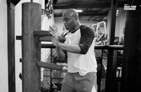 Anderson Silva for Nike