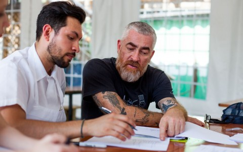 Alex Atala Meeting