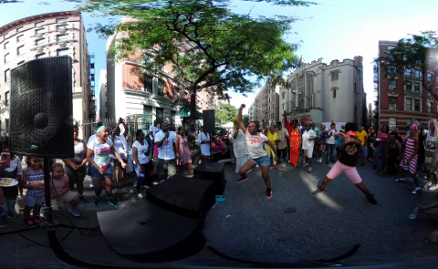 Manhattan Block Party 360